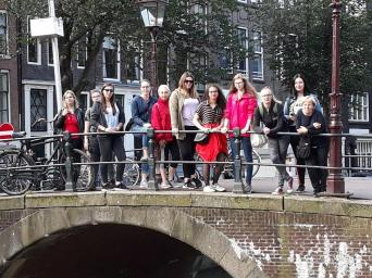 LFS Buchhof Abschlussexkursion Amsterdam