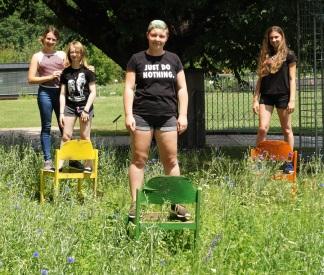 LFS Buchhof Unterricht im Freien